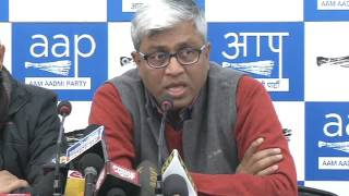 Aap Leader Ashutosh Brief Media on Completion of 50 days of the Demonetisation Fraud by Modi Govt