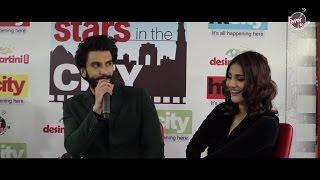 Ranveer Singh & Vaani Kapoor Promoting Befikre at Fever 104 FM Delhi