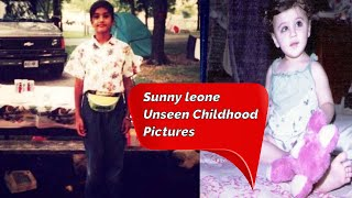 Sunny Leone Unseen Childhood Pictures Latest And Unseen SUnny Leone Pictures