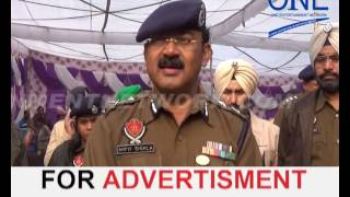 police lines jalandhar mein stadium ka udhghaatan police commissioner ne ki shuruat