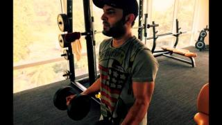 Kapil Sharma Workout in Gym For Film Firangi
