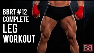 BBRT #12: Complete LEG WORKOUT gym routine for Sexy QUADS! (Hindi / Punjabi)