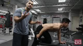 How to: TRICEP KICK BACK for super lean TRICEP MUSCLES! (Hindi / Punjabi)