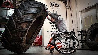 Disabled People Never Give Up