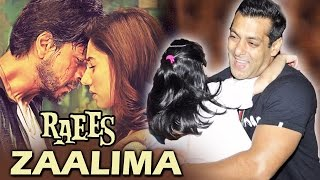 Shahrukh-Mahira To ROMANCE In Raees Song ZAALIMA, Salman Khan To Play Father In Next Film
