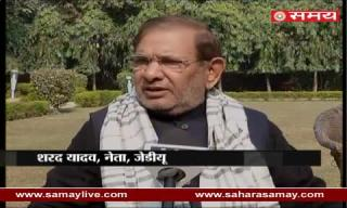 Sharad Yadav on SC decision cannot demand votes in the name of religion