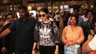 Anushka Sharma SPOTTED At Airport, Returns After New Year Celebration In Uttarakhand
