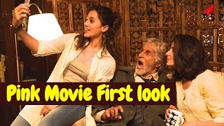 Tapsee Pannu Bollywood Movie 'PINK' first look! Thriller Movie 'Pink'| Big B look in PINK