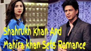Shahrukh Khan And  Mahira Khan  Raees Films Gossips sharukh khan - Mahira khan - bollywood bhaijaan