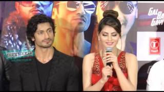 Urvashi Rautela - Vidyut Jamwal - Launch of T Series Next Single Gal ban Gayi