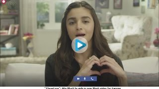 Alia bhatt has new meaning for love - I Heart Me - Alia Bhatt