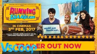 RunningShaadi.com Official Trailer Taapsee Pannu, Amit Sadh #Vscoop