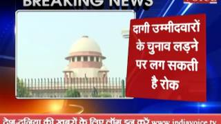 assembly elections sc hear plea soon on accused candidate