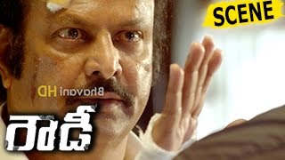 Vishnu Turns Rowdy Over Jayasudha Death And Kills Rivals - Action Scene - Rowdy Movie Scenes