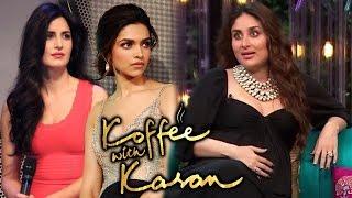 Kareena Kapoor REACTS To Ranbir's Ex Girlfriends Deepika-Katrina - Koffee With Karan 5