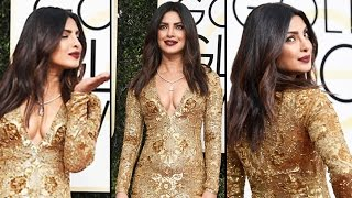 Priyanka Chopra's SMOKING HOT LOOK At Golden Globe Awards 2017
