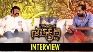 Bala Krishna and Krish Interview About Gautamiputra Satakarni