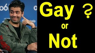 Karan Johar Openly Admits Being Gay In Public | Is Karan Johar a gay