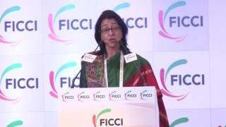 Ms Naina Lal Kidwai welcomes Sajeev Sanyal at FICCI's 89th AGM