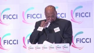 Shri Sharad Pawar addressing FICCI's 89th AGM