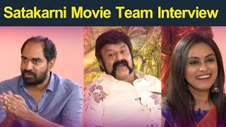 Bala Krishna and Krish Interview About Gautamiputra Satakarni :  Satakarni Movie Team Interview