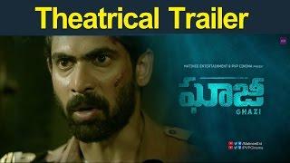 Rana's Ghazi Movie Telugu Theatrical Trailer : Ghazi Trailer :  Rana Daggubati Taapsee #Ghazi