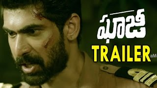Ghazi Telugu Movie Trailer Rana, Tapsee Pannu