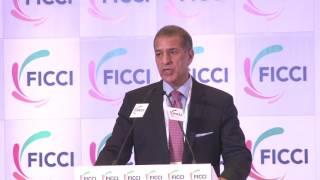 Rajan Bharati Mittal at FICCI's 89th AGM