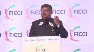 Minister Ravi Shankar Prasad at FICCI's 89th AGM