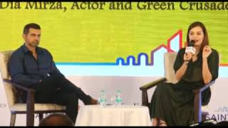 ECONOMIC TIMES INVITES YOU TO THE SMART GREEN SUMMIT & AWARDS HELD AT THE LEELA WITH DIA MIRZA