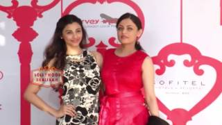 RED CARPET OF HARVEY INDIA'S CHRISTMAS BRUNCH WITH CELEBRITY GUEST