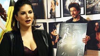 Sunny Leone In LOVE With Shahrukh Khan's RUGGED LOOK - Dabboo Ratnani's Calendar 2017