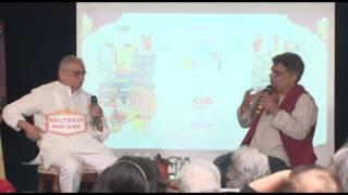 Curtain Raiser Of ZEE Jaipur Literature Festival 2017 With Gulzar & Swanand KIRKIRE