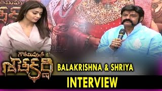 Balakrishna and Shriya Interview About Gautamiputra Satakarni Movie