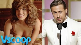 Eva Mendes thanked beau Ryan Gosling | Golden Globe Award #Vscoop
