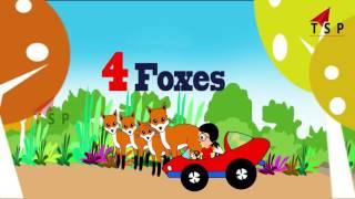 Numbers Song For Babies | Pre Nursery Rhymes | Baby  Songs | TSP Kids Rhymes
