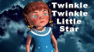 Twinkle Twinkle Little Star Song | Children Nursery Rhymes | TSP Kids Rhymes