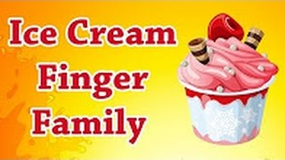 Ice Cream Finger Family Song For Children - Nursery Finger Family Songs - TSP Kids Rhymes