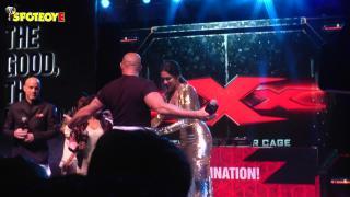 Vin Diesel & Deepika Padukone's Crowd Interaction at xXx Movie Promotions | SpotboyE