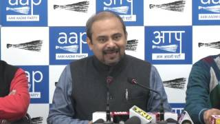 Aap Delhi Convener Briefs on how Congress in Goa Compromising with their Corrupt Candidates