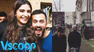 Sonam Kapoor Gets Goofy With Rumoured Beau Anand Ahuja #Vscoop