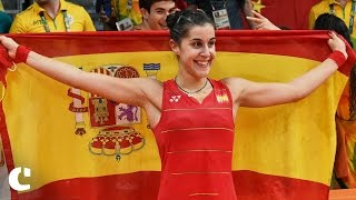'Happy to see people following Badminton, not just Football' : Carolina Marin