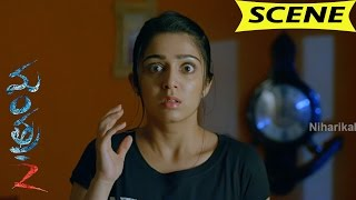 Sandhya Turns Ghost And Comes Charmy House - Horror Scene - Mantra-2 Movie Scenes