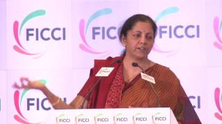 Ms Nirmala Sitharaman at FICCI's 89th AGM