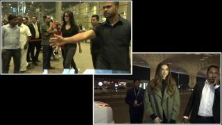 Ranbir's EXES Deepika and Katrina Spotted | Watch Video