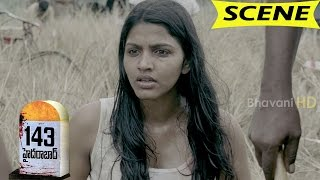 Dhansika Kills Forest Police and Reveals Psycho Killer Story - 143 Hyderabad Movie Scenes