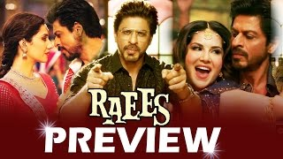 Raees Movie PREVIEW - Shahrukh Khan, Mahira Khan - Aa Raha Hoon Main