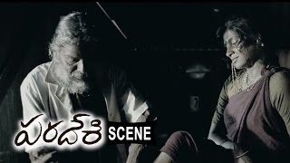 Atharva And Villagers Scared With Tea Estate Workers - Paradesi Movie Scenes