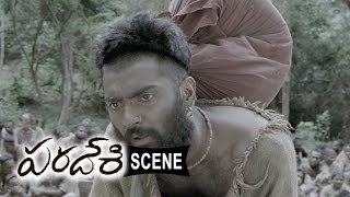 Jerry And Doctor Cheats Atharva And Villagers - Emotional Scene - Paradesi Movie Scenes