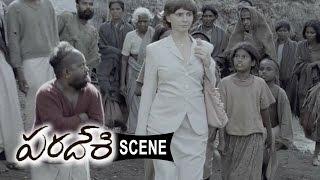 Sivasankar Treats Villagers To Cure Disease - Paradesi Movie Scenes